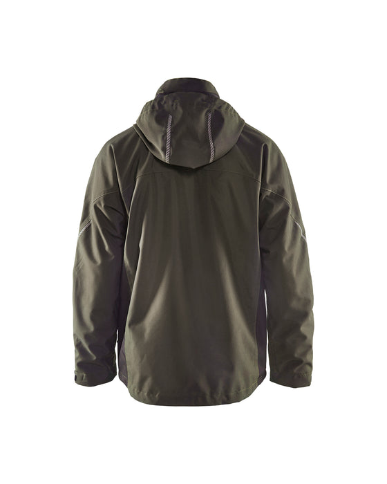 BLÅKLÄDER Functional jacket Dark olive green /black
