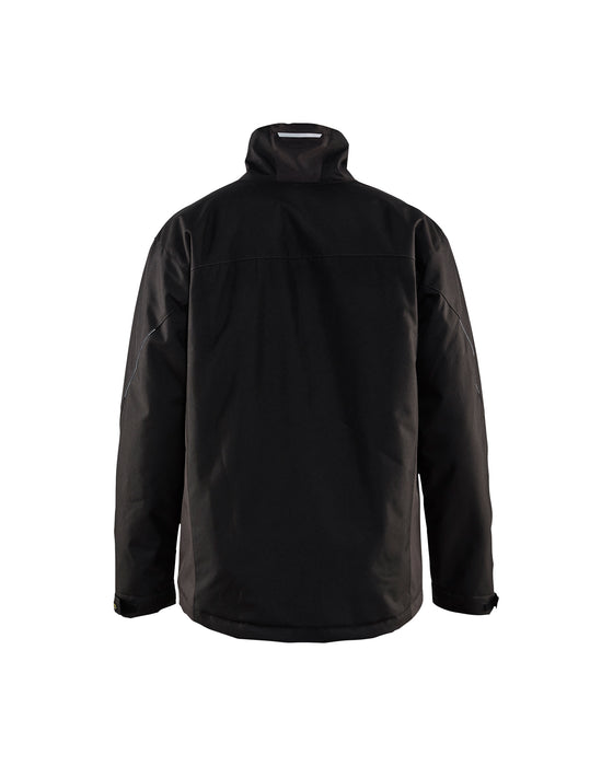 BLÅKLÄDER Winter Jacket Black/Dark grey
