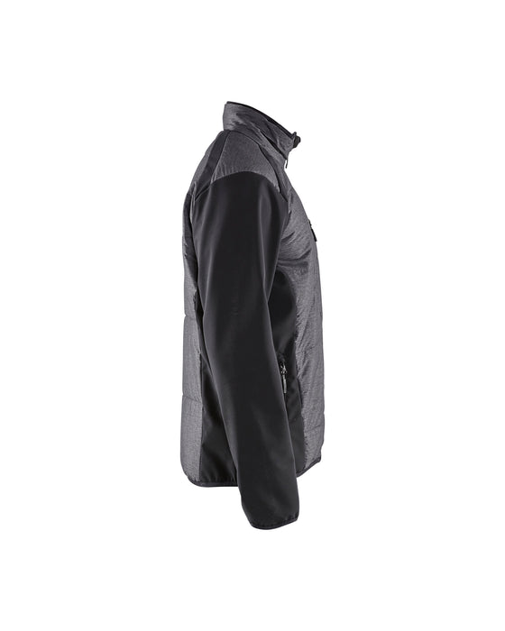 BLÅKLÄDER Insulation jacket Black/Dark grey
