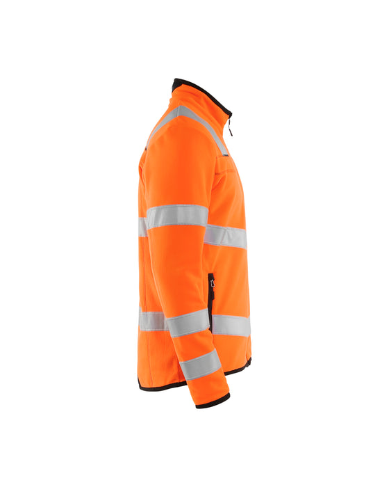 BLÅKLÄDER Hivis microfleece jacket Orange