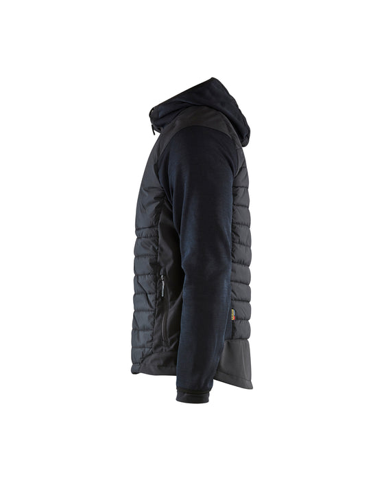 BLÅKLÄDER Hybrid Jacket Dark navy/black