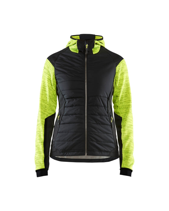 BLÅKLÄDER Hybrid Jacket Women Yellow/Black