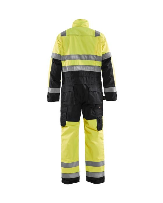 BLÅKLÄDER High-visibility overall Yellow/Black