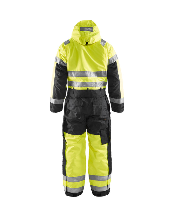 BLÅKLÄDER Winter overall, High visibility Yellow/Black