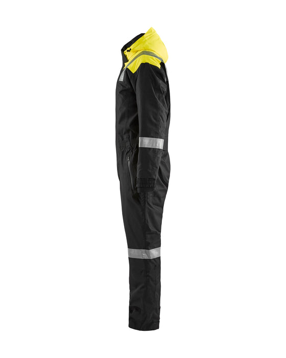 BLÅKLÄDER Winter coverall Black/Yellow