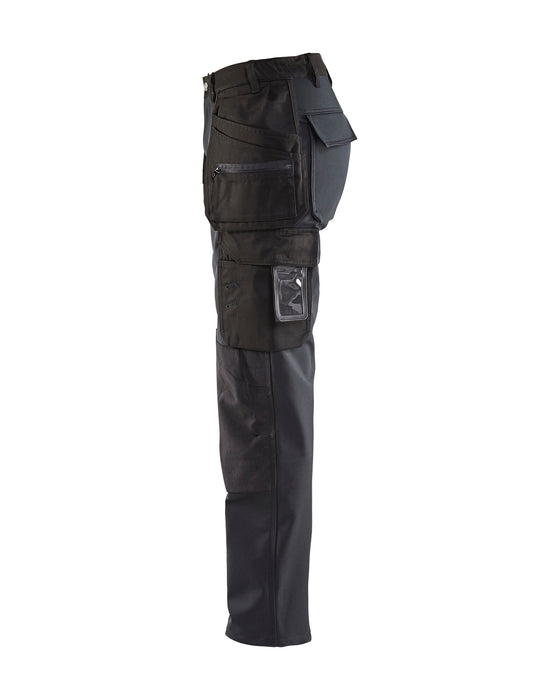 BLÅKLÄDER Softshell trouser, Women Black