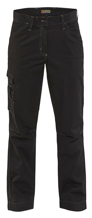 BLÅKLÄDER Ladies service trouser - Recycled Polyester Black