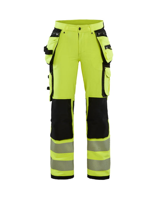 BLÅKLÄDER Hivis trouser 4way stretch Women  Yellow/Black