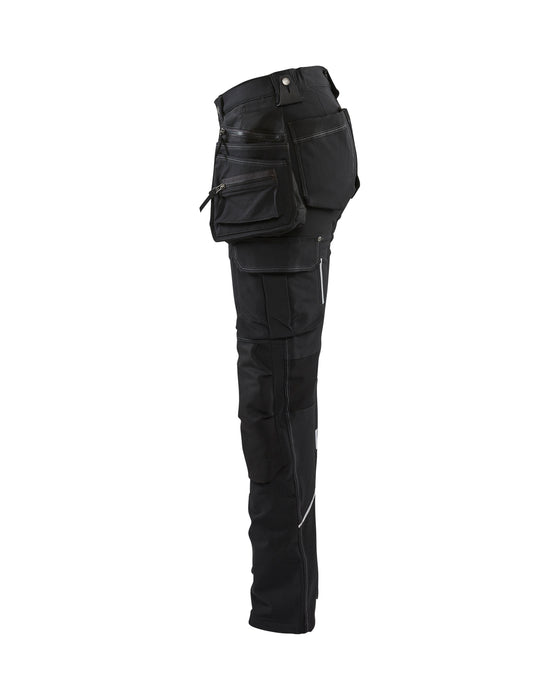 BLÅKLÄDER  Craftsman Trouser Women 4 way stretch  Black