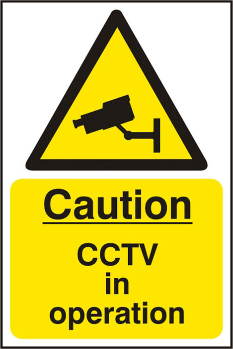 Warning Cctv Sav  (Pk5) 200Mm X 300Mm 1 Pack
