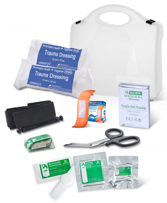 BS8599-1:2019 CRITICAL INJURY PACK HIGH RISK IN BOX 1 Pack