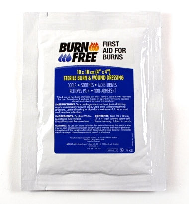 Burn Dressing 10 X 10Cm  1 Pack