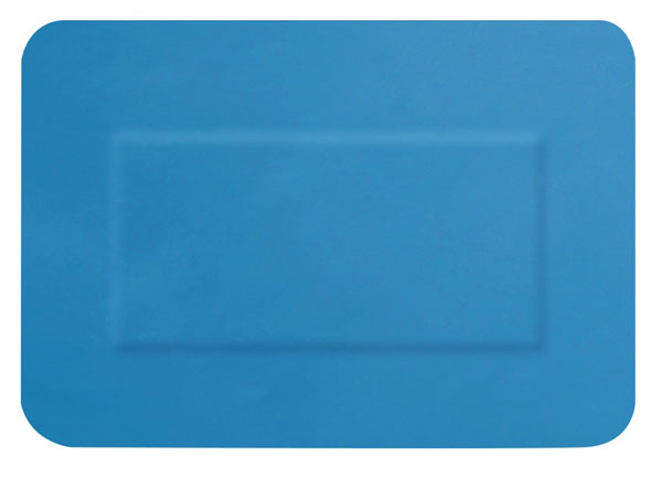 Hygio Plast Blue Detectable Plasters Assorted Box Of 20