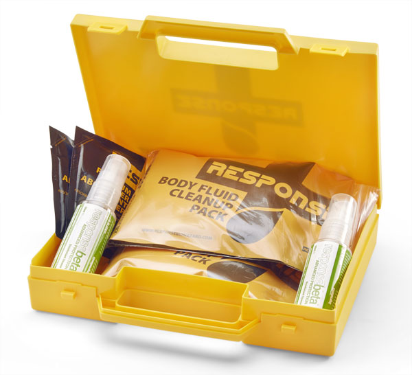 Response 2 Application Body Fluid Spill Kit 1 Pack