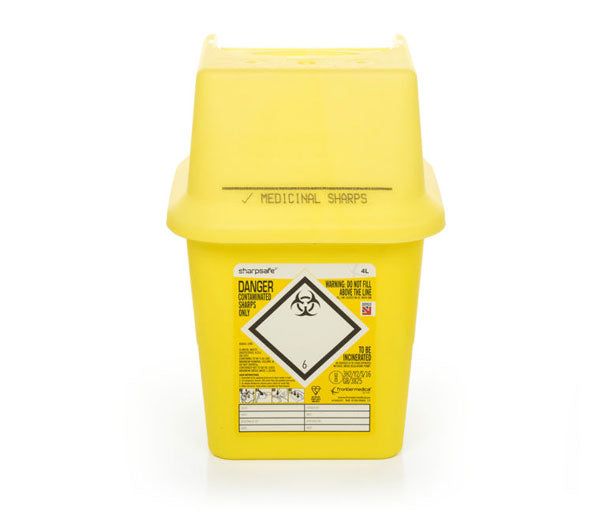 Sharp Safe Sharps Bin 4Ltr 1 Pack