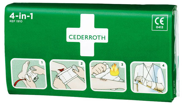 Cederroth 4 In 1 Bloodstopper  1 Pack