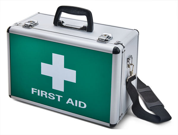 Click Medical Large Aluminium First Aid Case 1 Pack