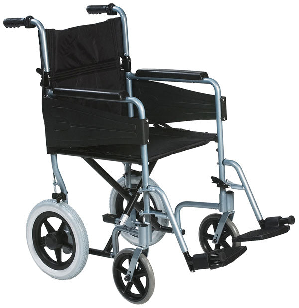 Click Medical Lightweight Transit Wheelchair 1 Pack