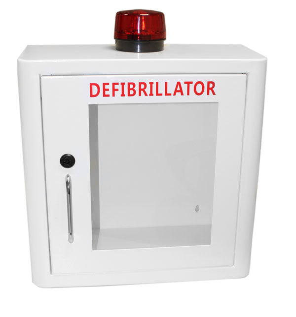 DEFIBRILLATOR MILD STEEL CABINET INTERNAL WHITE 1 Pack