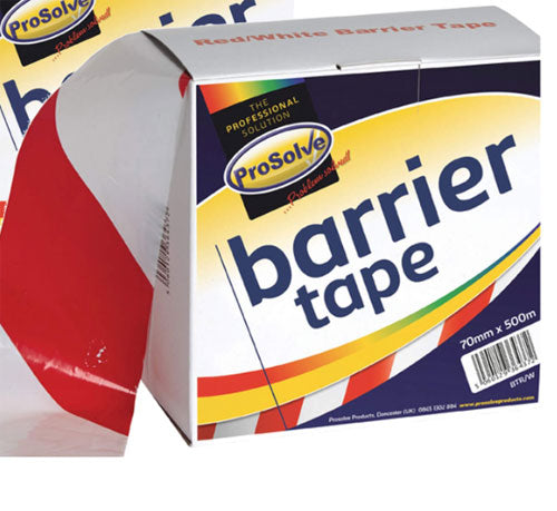 RED/WHITE BARRIER TAPE  1 Pack