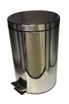 STAINLESS STEEL PEDAL BIN  1 Pack