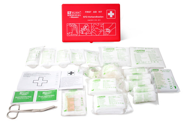 German Vehicle First Aid Kit Din 13164 In Travel Box 1 Pack
