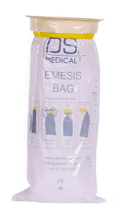 Emesis Vomit Bag  Box Of 1