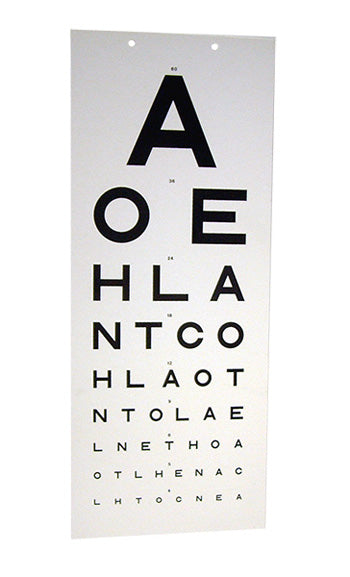 EYE TEST CHART TR/917  1 Pack