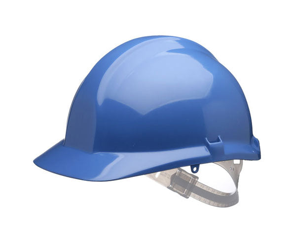 1125 Safety Helmet Blue  1 Pack - Spontex Workwear