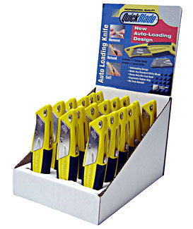 DISPLAY BASE C/W 18 AF KNIVES  1 Pack