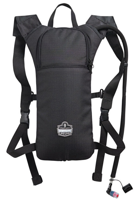 HI-VIS LOW PROFILE 2 LITRE HYDRATION PACK BLACK 1 Pack
