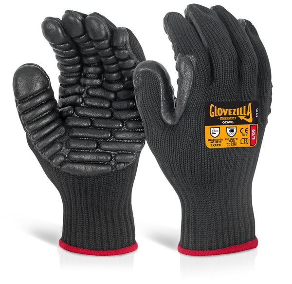 GLOVEZILLA ANTI VIBRATION GLOVE        Sold as Pair