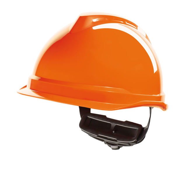 V-Gard 520 Peakless Safety Helmet Orange 1 Pack