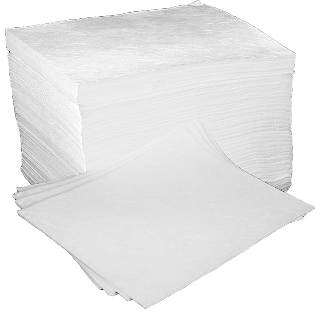 Oil & Fuel Absorbent Pads(100)  1 Pack