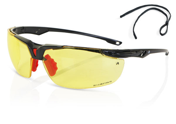 YELLOW HIGH PERFORMANCE SPORTSTYLE SPECTACLE 1 Pack