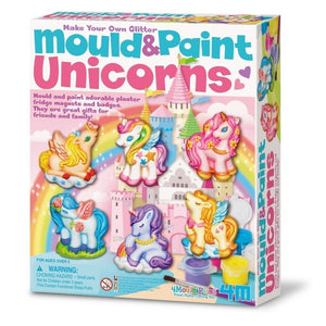 4M Mould & Paint Unicorns