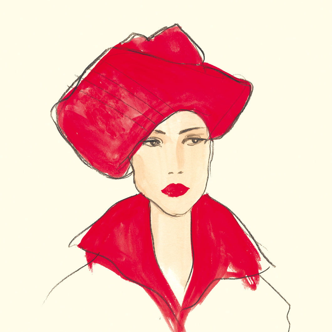 G2 The Woman in the Red Hat