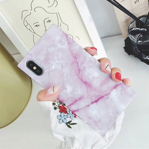 Marble texture Pattern iPhone Case