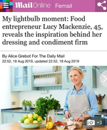 Lucy's Dressings in the Daily Mail