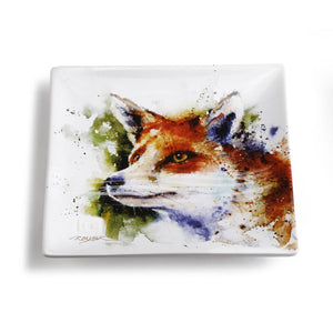 Fox Snack Plate - Hobby Hill Farm