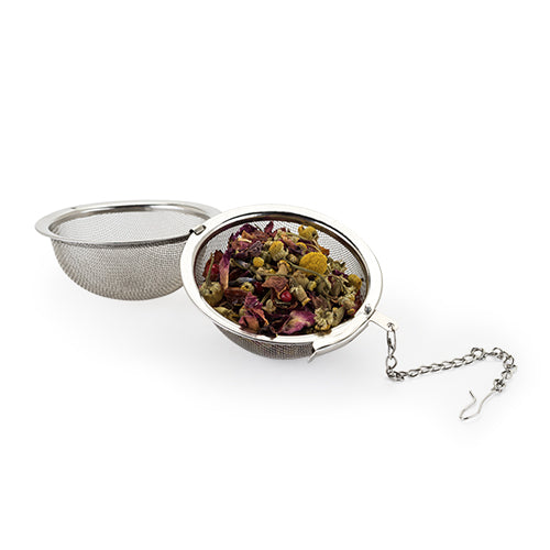 Tea Infuser Ball in Stainless Steel - Hobby Hill Farm