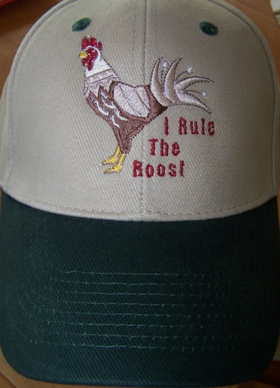 Rule the Roost - Ball Cap - Hobby Hill Farm