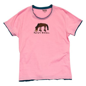 Pasture Bedtime Women's PJ Tee - Hobby Hill Farm