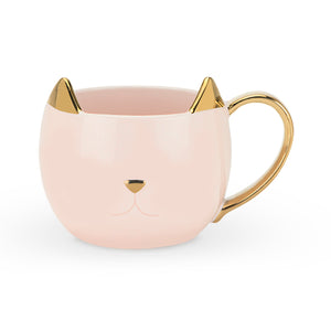 Chloe Pink Cat Tea Mug - Hobby Hill Farm