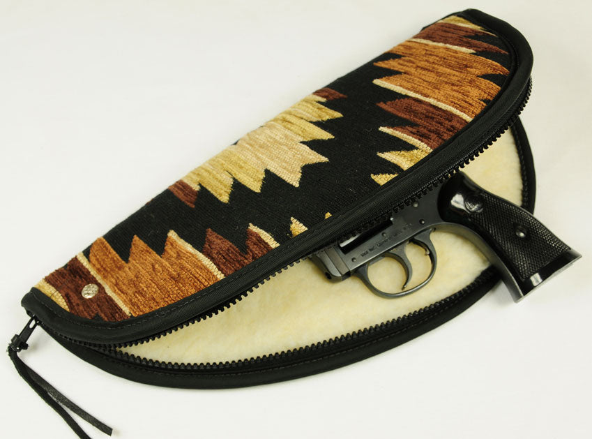Leather Gun Case - Leather or Tapestry - Hobby Hill Farm