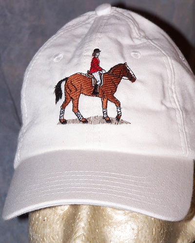 Cooling Ball Cap - Hunter - White - Hobby Hill Farm