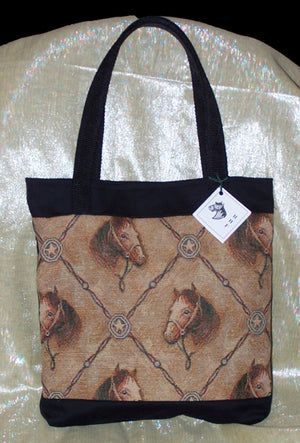 Diamond Horse Tote - Hobby Hill Farm