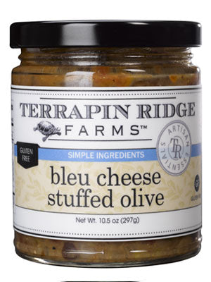 Bleu Cheese Stuffed Olive Tapenade - Hobby Hill Farm