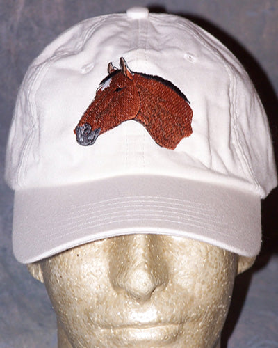 Cooling Cap - Thoroughbred - White - Hobby Hill Farm