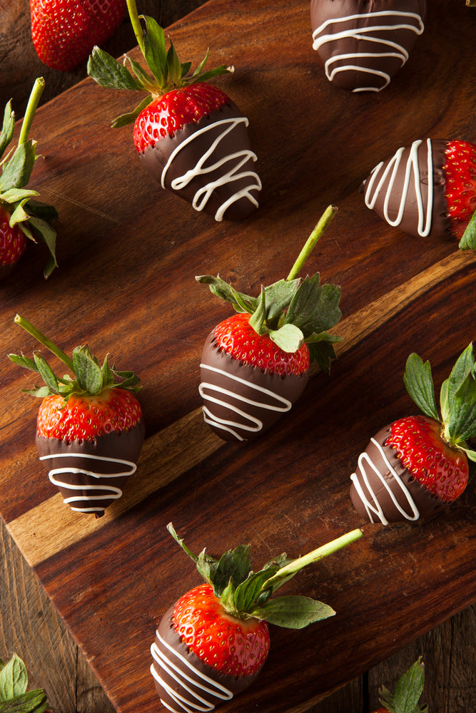 Chocolate Covered Strawberries - Hobby Hill Farm